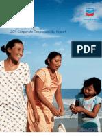Chevron Corporate Responsability Report 2011