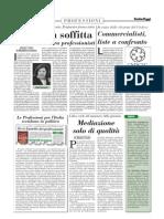 Le Società fra Professionisti in soffitta - Italia Oggi 12/01/2013
