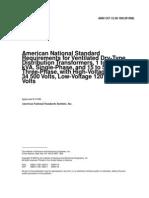 ANSI C57.12.50-1981(R1998)