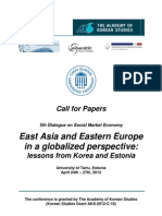 Call for Papers2013 EAEE
