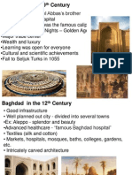 Baghdad in the 9th and 12th century
