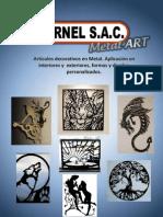 Articulos decorativos en Metal - GARNEL SAC