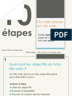 10 Etapes pour réussir son projet web