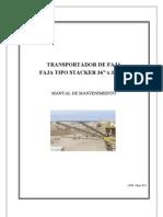 MANTENIMIENTO DE FAJA TRANSPORTADORA