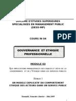 Gouvernance Et Ethique - Module 03_Complet