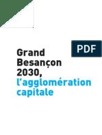 Grand Besançon 2030, l'agglomération capitale