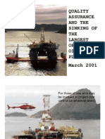 66337503 Quality Assurance and the Sinking of Oil Platform P 36