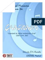 Cancionero Verbum Dei con Acordes (8va Edición)