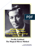 Neville Goddard - The Magical Mirror Method