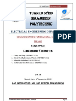 Communication system (fiber optic) report 6