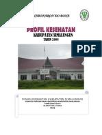 Profil Kesehatan Kab. Simalungun 2008