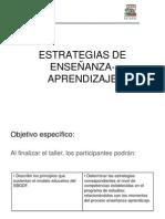 CURSO ESTRATEGIAS DE ENSEÑANZA -APRENDIZAJE