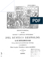 Libro Bertoldo y Bertoldino