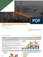 Emerging Markets M&A Activity