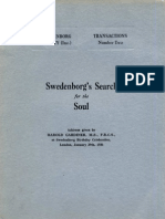 Harold Gardiner SWEDENBORG's SEARCH FOR THE SOUL The Swedenborg Society London 1936