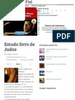 Estudo Livro de Judas - O Pregador Fiel