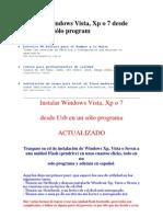 Instalar Windows Vista