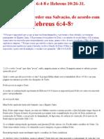 Hebreus 6_4-8; 10_26-31