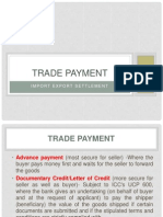 Trade Payment