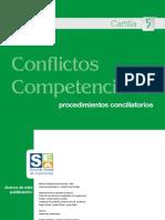 Conflictos Competenciales, procedimientos conciliatorios