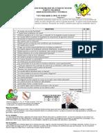 Test para medir el nivel de estrés_Tutorías II