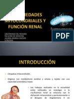 Presentación Enfermedades mitocondriales y función renal