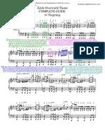 Zelda - Overworld Theme - Sheet Music Guide