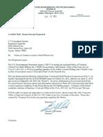 130110, EPA, Kulluk Notice of Violation(1)