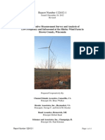 A Cooperative Measurement Survey and Analysis of Low Frequency and Infrasound