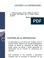 1. Introducción a La Metrología