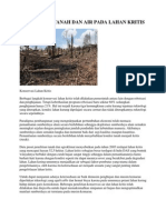 Konservasi Tanah Dan Air Pada Lahan