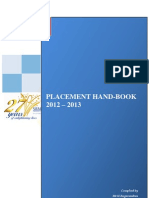 Placement Hand Book