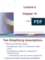 Lecture 5. Cost Functions