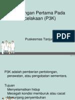 Pertolongan Pertama Pada Kecelakaan (P3K)