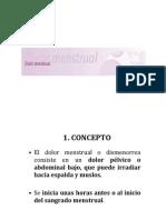 Tema 10.Dismenorrea
