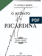 O Retrato de Ricardina, de Camilo Castelo Branco