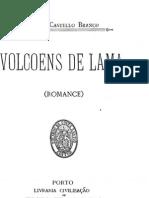 Vulcões de Lama, de Camilo Castelo Branco
