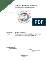 Proiect Sisteme Informatice SAGA