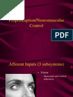 Prop Rio Ception Neuromuscular Control
