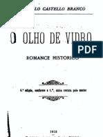 O Olho de Vidro, de Camilo Castelo Branco