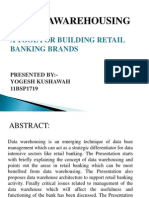 Data Warehousing Ppt