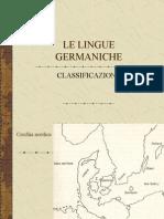 classificazione lingue germaniche