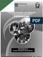 Ecuaciones y Porcentajes 2009 Componente