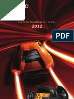 Kenwood Catalogo Car Multimedia 2012
