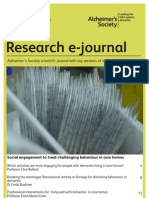 Alzheimers Research e-journal Issue 11 2012