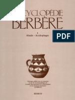 Encyclopedie Berbere Volume 1