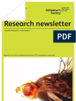 Alzheimers Research Newsletter July 2012