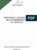 Identidad y onomastica de los berbéres