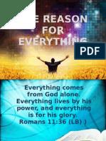 day 7. purpose driven life