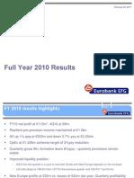 FY 2010 Results Presentation - Final EFG
